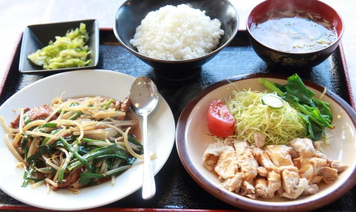 中華の定食