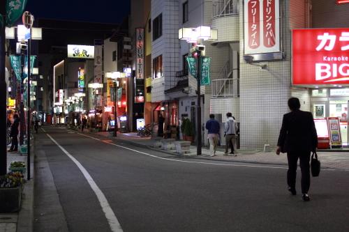 新伊勢町通り 夜景